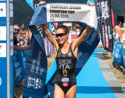 ETU Triathlon Junior European Cup Zilina 2018 women