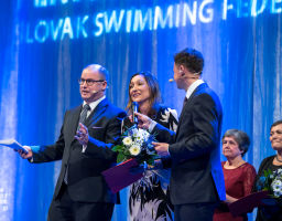 Gala dinner at the occasion of 100 years anniversary of organized swimming sports in Czechoslovakia Prague 2019