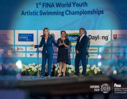 FINA World Youth Artistic Swimming Championships Samorin 2019 (opening ceremony)