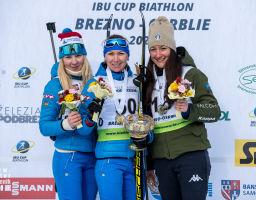 IBU CUP 2020 Osrblie – Women 12.5km short individual